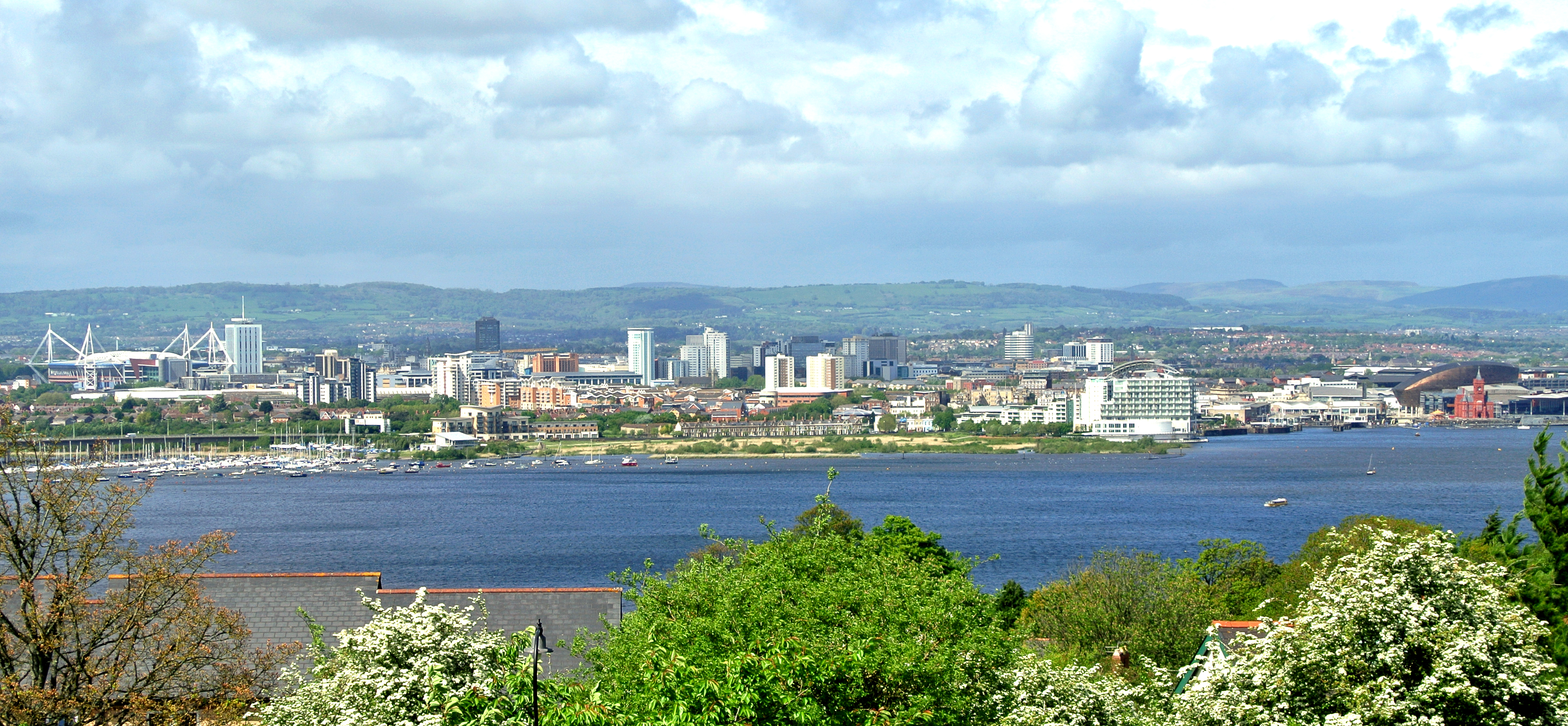 Cardiff from penarth