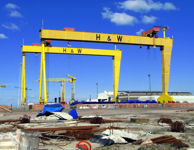 harland and woolf cranes