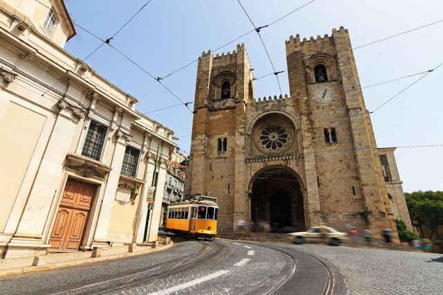 eletrico 28 e Se Lisboa